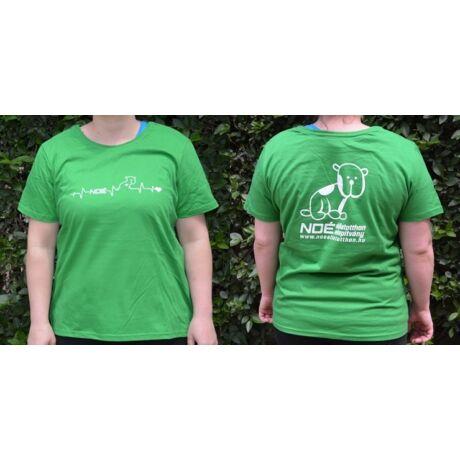 Zöld kereknyakú póló