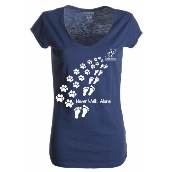 Never Walk Alone női póló
